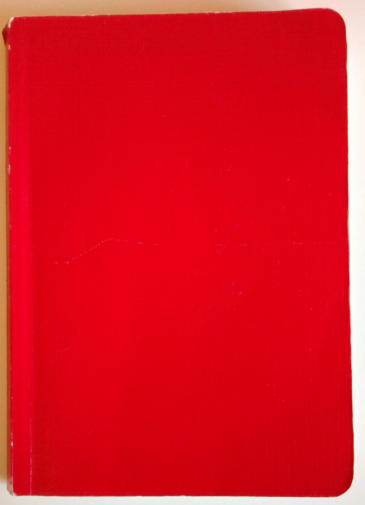 red workbook, cover